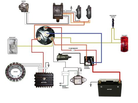 Simplified Wiring Diagram For Cafe Projects Try