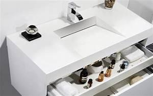 meubles lave mains robinetteries meubles sdb meuble de With meuble salle de bain longueur 100 cm
