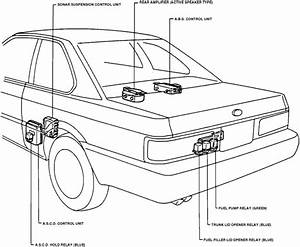 Where Is The Fuel Pump Relay Located On A 1992 Infiniti