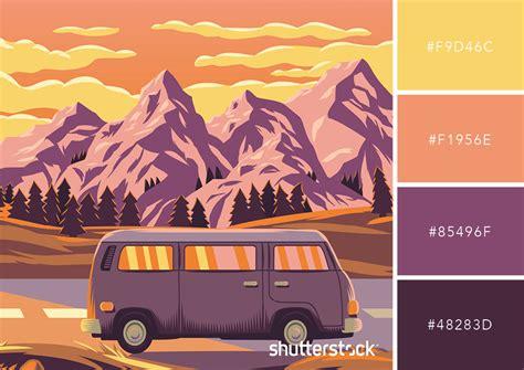 retro color palette 25 retro and vintage color palettes free swatch