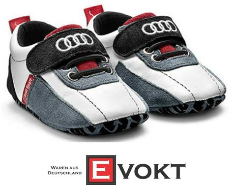 audi sport baby booties size 17 audi collection shoes audi sport logo genuine ebay
