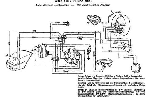 Vespa Lx 150 Wiring Diagram by Vespa Px 125 Wiring Diagram Wiring Diagram