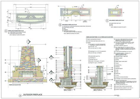basement floor plans ideas outdoor fireplace construction details home plans