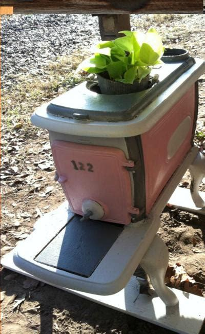 recycling  stoves  metal planters  save money