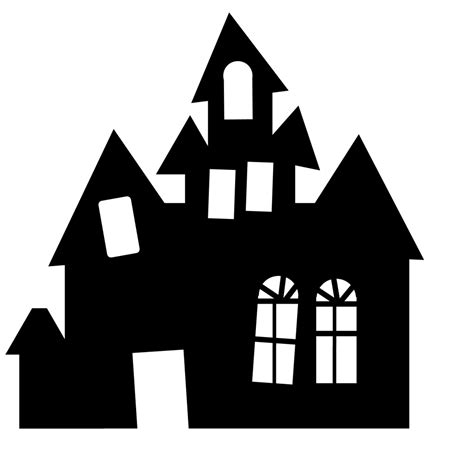 haunted house template shadow box pumpkins projects