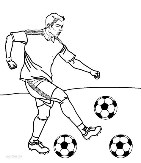 Kleurplaat Badminton by Printable Football Player Coloring Pages For
