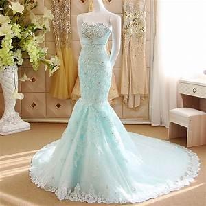 Popular Ice Blue Wedding Dresses-Buy Cheap Ice Blue ...