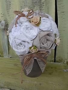Stoff Vintage Shabby : vintage stoff rosen shabby kugelbaum baum stoffblumen handarbeit upcycling pinterest ~ Orissabook.com Haus und Dekorationen