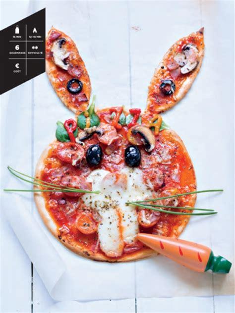 cuisine le lapin la pizza lapin hachette pratique