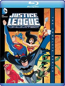 """Justice League Unlimited: The Complete Series"" on Blu-ray ..."
