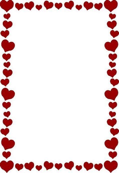 ️ Day 🔲 | Heart clip art, Valentines day border, Clip art