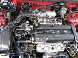 Acura Integra Ls Engine Bay Photo Pictures