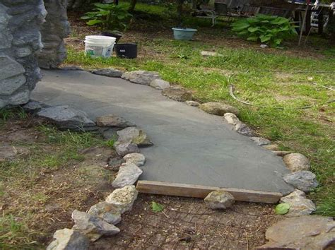 best 25 concrete walkway ideas on front