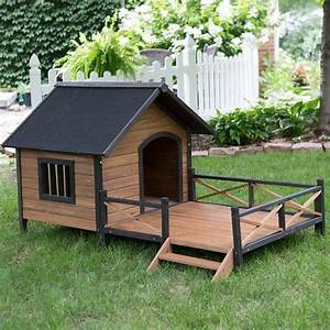 best outdoor dog houses for large dogs tectopet With large outdoor dog house
