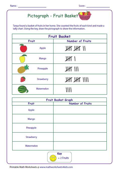 number names worksheets 187 pictograph worksheets for grade