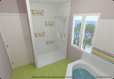 salle de bain enfant coloree