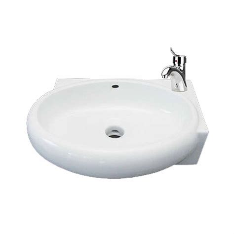 corner wall mount bathroom sink  counter vessel white