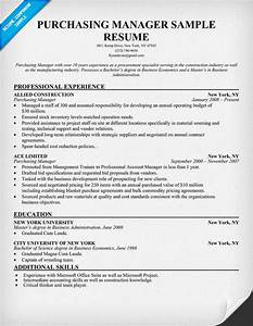 purchasing manager resume resumecompanioncom resume With sample resume for purchaser