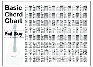 Ultimate Guitar Chord Chart Pdf Printable Bass Guitar Chords 4 String Bass Guitar Chord