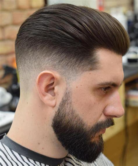 long top taper fade  beard menshairstylesfade