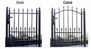 Fixation Portail Battant : portail simple battant venise achat en ligne ou dans ~ Premium-room.com Idées de Décoration