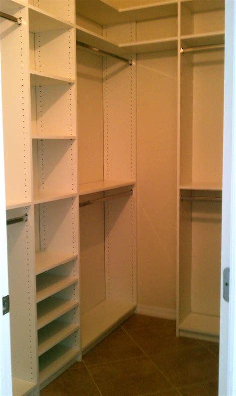walk in closet design small walkin closet design cost u