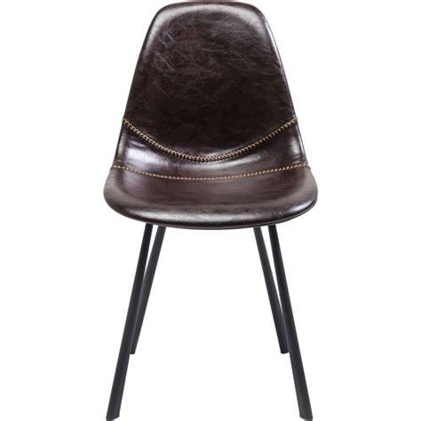 Chaise Marron by Chaise Cuir Marron Lounge Kare Design