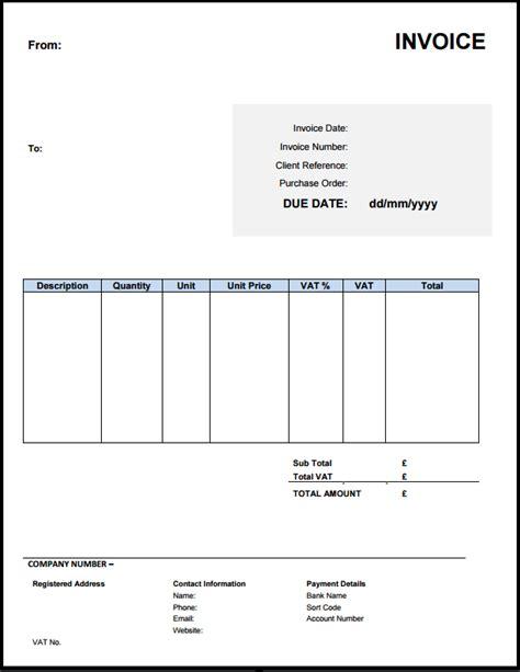 invoice template uk learn    invoice