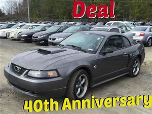 2004 Mustang 40th Anniversary Cars For Sale