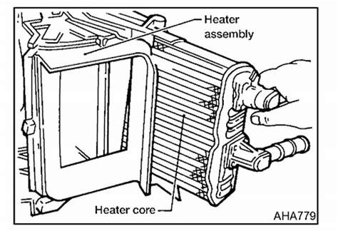 Nissan Quest Heater Core Removing Dash Passenger