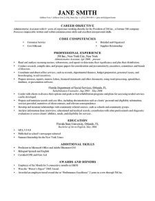 Easily Adaptable Resume by Advanced Resume Templates Resume Genius