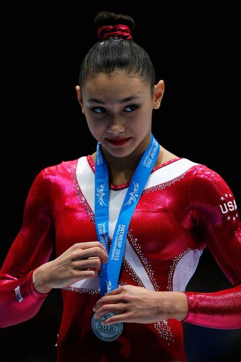 ross kyla gymnastics artistic championships gymnast zimbio beam belgium