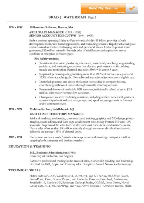 The Chronological Resume Lists The Following non chronological 3 resume format sle resume