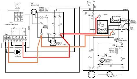 honeywell r845a wiring diagram 30 wiring diagram images