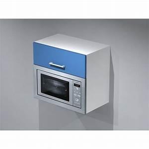 meuble haut pour micro onde With meuble pour micro onde encastrable