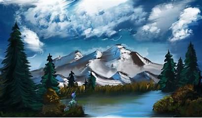 Ross Bob Wallpapers Challenge Painting Desktop Alumx