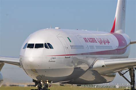 air alg 233 rie r 233 ceptionne un airbus gros porteur radio alg 233 rienne