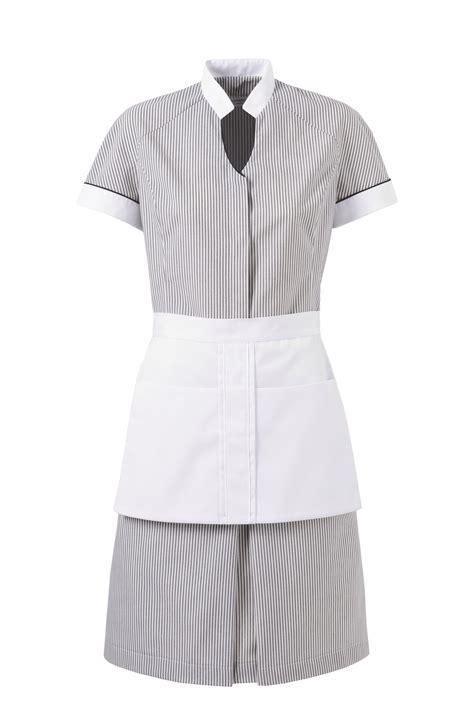 interim femme de chambre ambra robe femme de chambre gris blanc