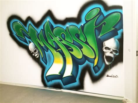 Vægmaleri & Unik Graffiti Kunst 2019