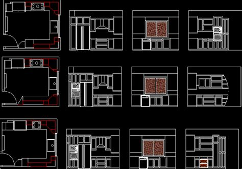 kitchen  dwg block  autocad designs cad