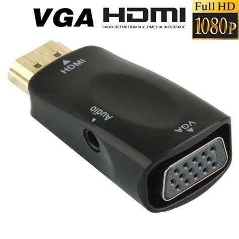adaptateur hdmi vers vga adaptateur hdmi vers vga hd 1080p audio