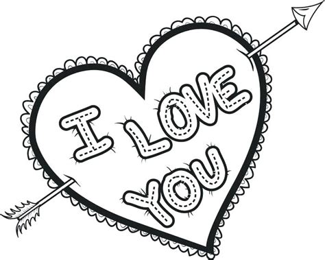 Valentine's day is all about hearts. Love Coloring Pages - Best Coloring Pages For Kids