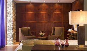 Rooms with wood panel walls home decorations 22 for Wall panelling designs living room