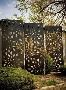 Panneau Separation : panneau separation jardin grillage rigide noir ~ Carolinahurricanesstore.com Idées de Décoration