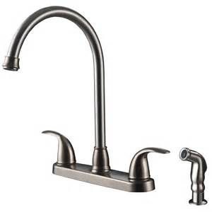 kitchen faucet handle vantage collection single handle kitchen faucet with side spray ultra faucets