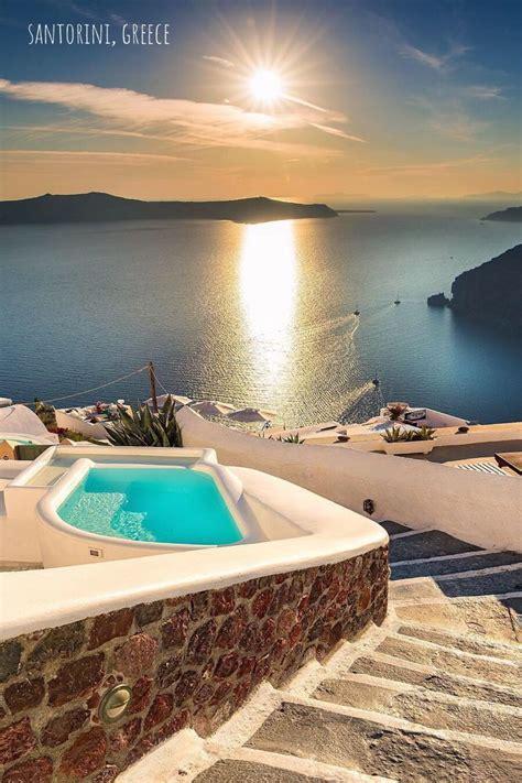 Santorini Greece Santorini Is One Of The Cyclades