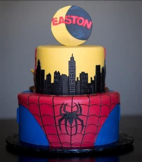 ᐅ bolo do homem aranha os 20 mais bonitos search cakes and amazing cakes