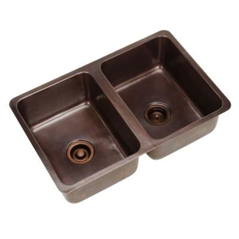 home depot pegasus farmhouse sink pegasus dual mount solid copper 31x20x9 2 bowl