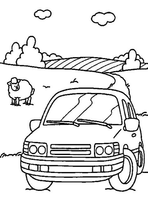 Rijbewijs Kleurplaat by N 38 Coloring Pages Of Cars