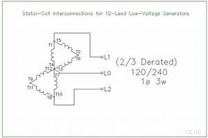 Wiring Diagram For 12 Lead Generator
